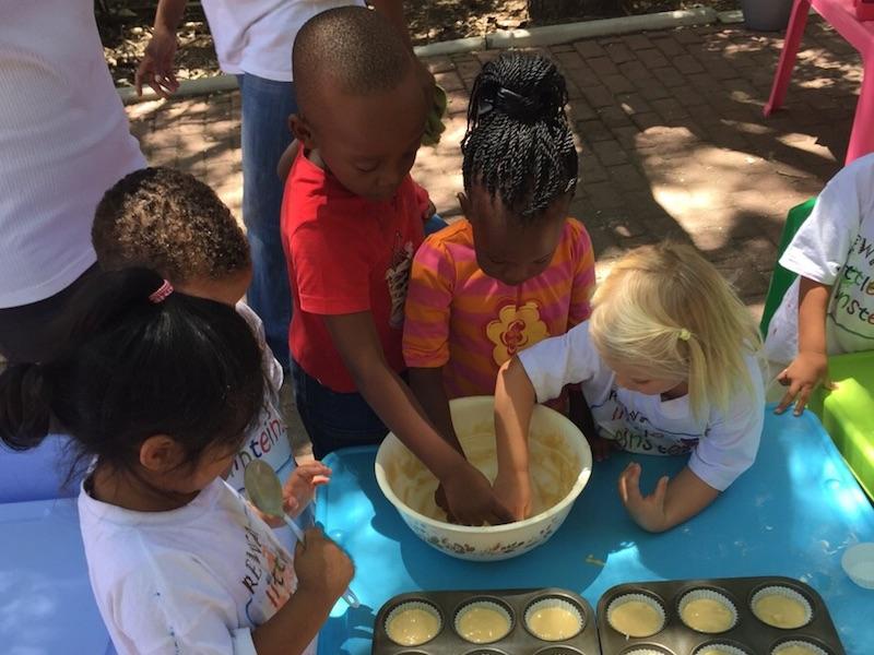 Cooking at Little Einsteins
