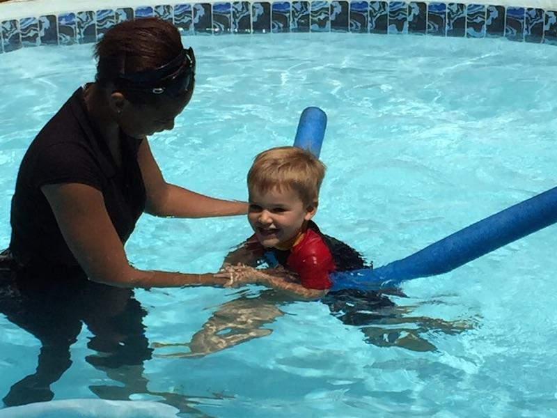 Swimming at Little Einsteins